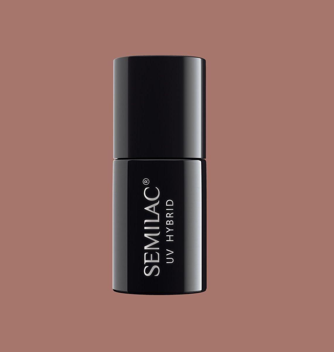 SEMILAC 139 Nuts & Caramel UV LED Lakier Hybrydowy 7ml