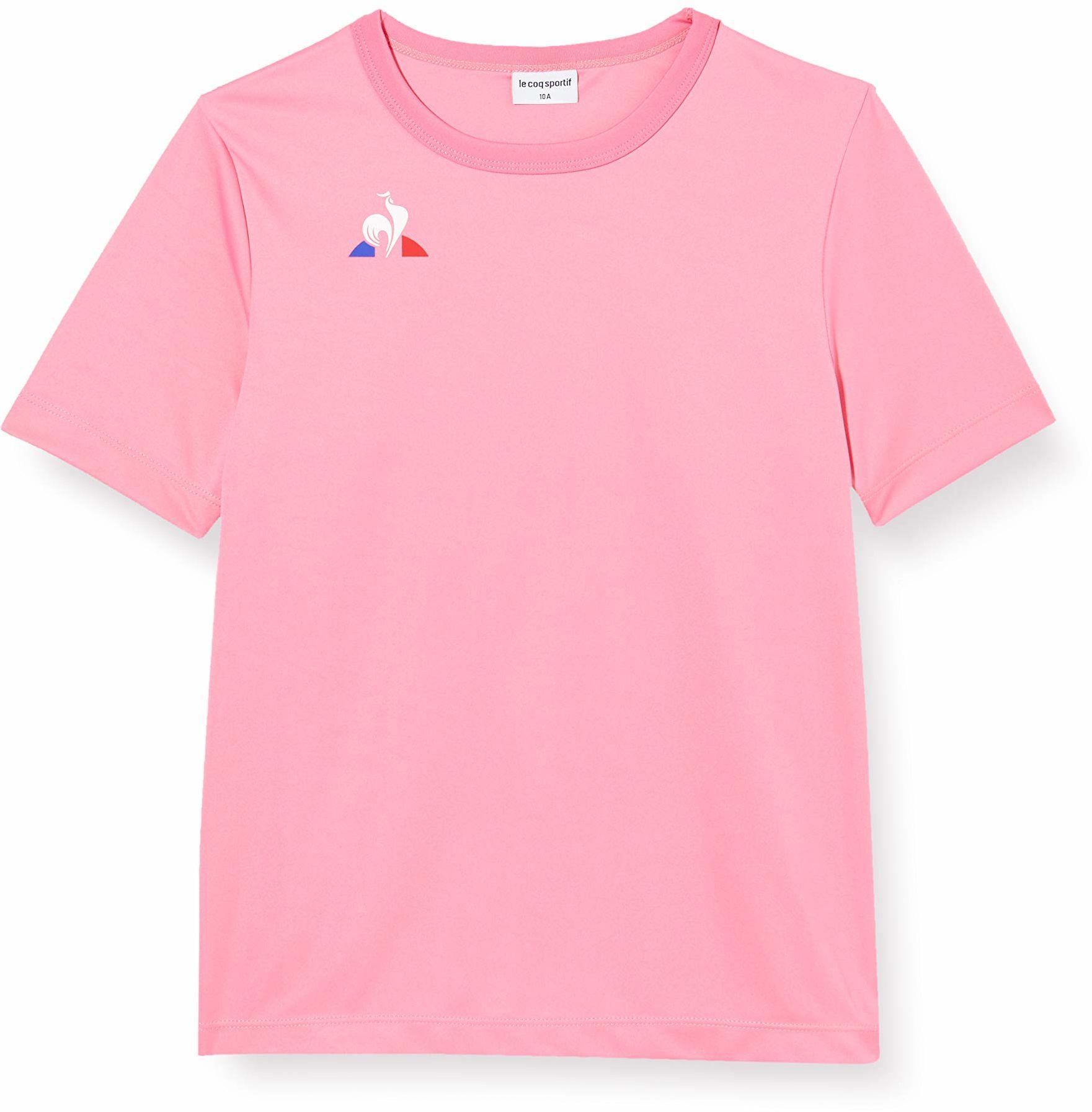 Le Coq Sportif N 1 Maillot Match Enfant Mc Carnati T-Shirt, różowy karnation, 6A