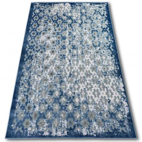Dywan AKRYL YAZZ 7006 ORIENT szary/niebieski/kość słoniowa 80x150 cm