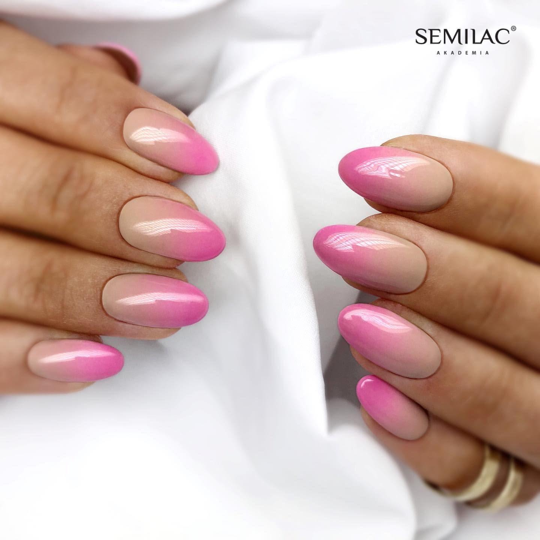 SEMILAC 138 Perfect Nude UV LED Lakier Hybrydowy 7ml