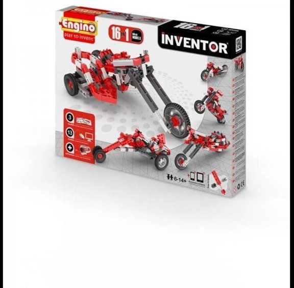 Inventor 16 models motorbikes - motory - Engino