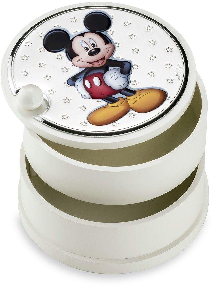 Szkatułka dziecięca Disney Rozmiar: Fi 12 cm H9 cm Kolor: Różowy SKU: VD415