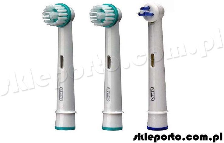 Oral-b Ortho Care Essentials 2+1 końcówka ortodontyczna - końcówki ortodontyczne