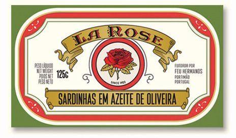 Portugalskie sardynki w oliwie z oliwek 125g La Rose