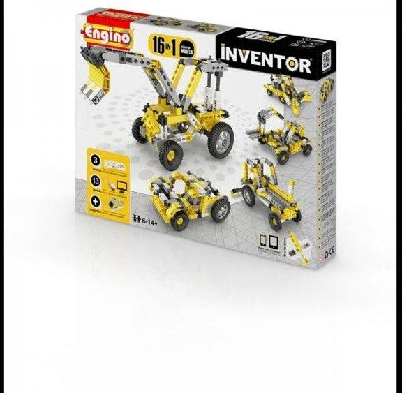 Inventor 16 models industrial - budowa - Engino