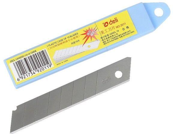 Ostrza zapasowe duże 18 mm, 10 sztuk -  Rabaty  Porady  Hurt  Wyceny   sklep@solokolos.pl   tel.(34)366-72-72