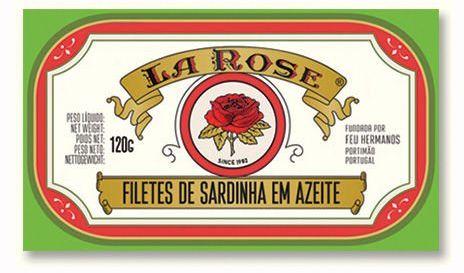 Portugalskie filety z sardynek w oliwie z oliwek 125g La Rose