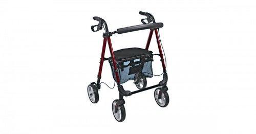 Podpórka rehabilitacyjna 4-kołowa, aluminiowa PRESTIGE AR-006