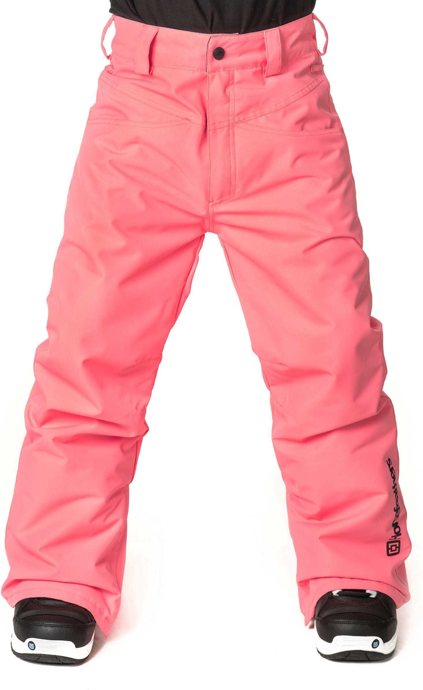 zimowe spodnie dziecięce HORSEFEATHERS RAE KIDS PANTS (bubblegum)