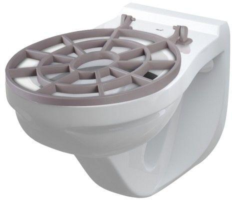 Muszla WC z kratką 640x390x440mm