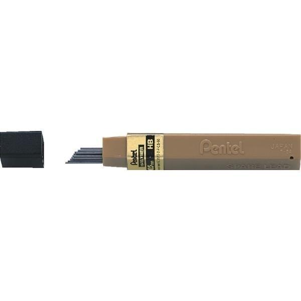 Grafity ołówkowe PENTEL HB 0,5 mm HI-POLYMER - X06751