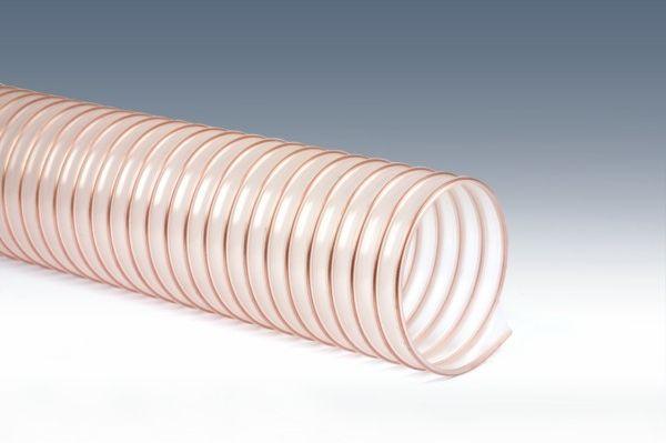 Wąż odciągowy elastyczny Pcv lekki fi 127
