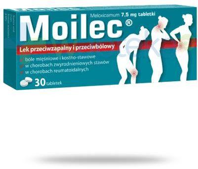Moilec 7,5mg 30 tabletek