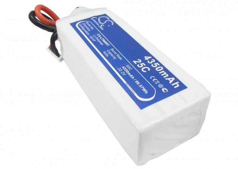 4350mAh 96.57Wh Li-Polymer 22.2V 6S 25C (Cameron Sino)