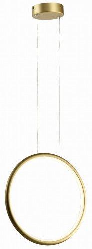 Lampa wisząca Ragi LED koło złota