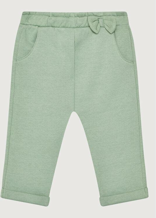 Spodnie dresowe 39M2I0516 Różowy Regular Fit