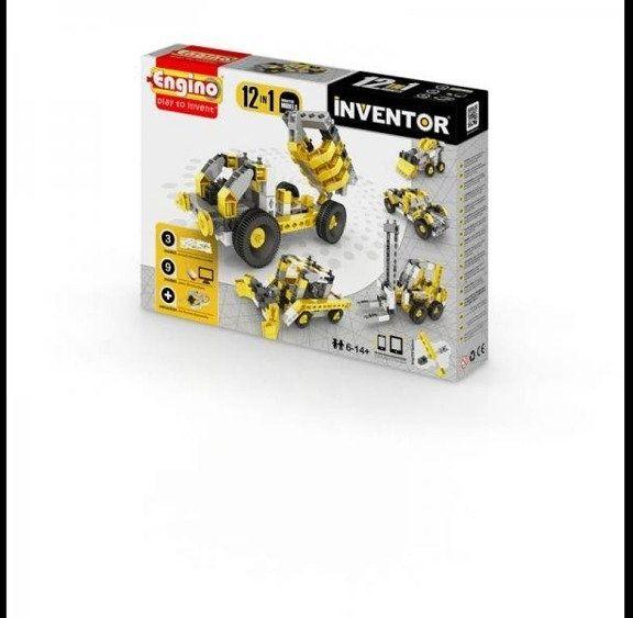 Inventor 12 models industrial - budowa - Engino