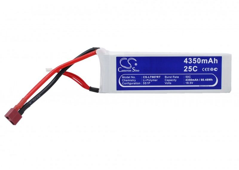 4350mAh 80.48Wh Li-Polymer 18.5V 5S 25C (Cameron Sino)