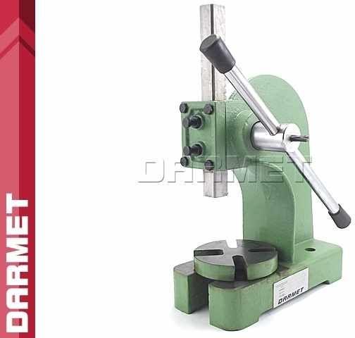 Prasa mechaniczna ręczna stołowa - 1 tona