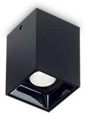 Oprawa sufitowa NITRO 10W SQUARE NERO 206042 - Ideal Lux