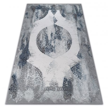 Dywan AKRYL VALENCIA 5040 ORIENT niebieski / szary 80x150 cm