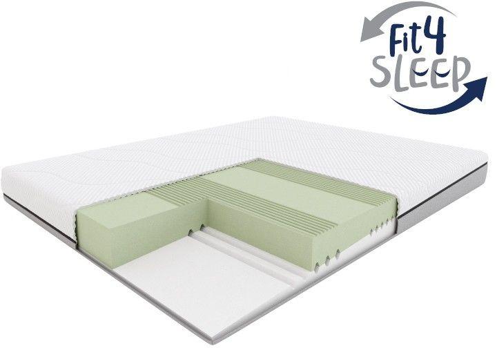 Fit.4.Sleep H3/H4  materac piankowy, Rozmiar - 80x200 WYPRZEDAŻ, WYSYŁKA GRATIS, 603-671-572