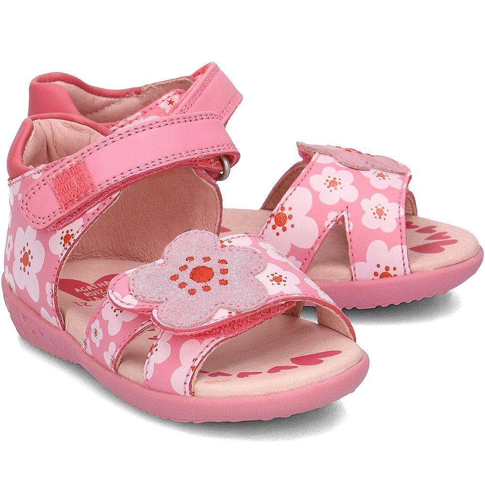 Agatha - Sandały Dziecięce - 182905 A-CHEIW - Różowy