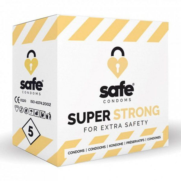 Prezerwatywy - Safe Super Strong Condoms 5 szt