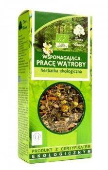 Herbatka Wspomagająca Pracę Wątroby 50g - Dary Natury