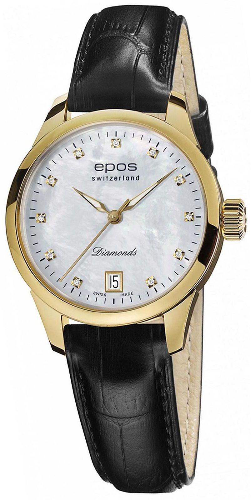 Zegarek damski Epos Ladies Diamonds Automatic