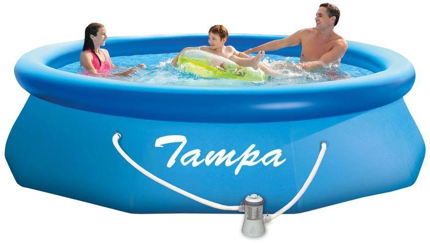 Basen Tampa 3,05x0,76m z filtracją nabojową