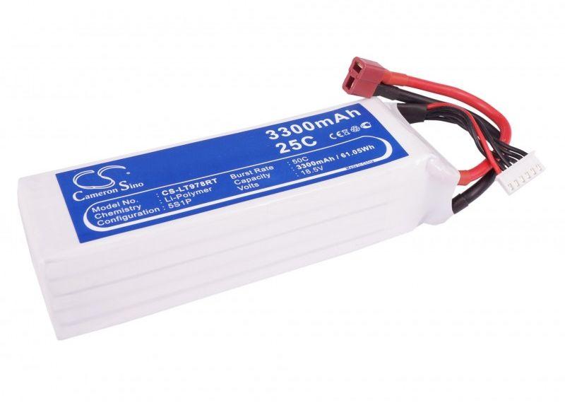 3300mAh 61.05Wh Li-Polymer 18.5V 5S 25C (Cameron Sino)