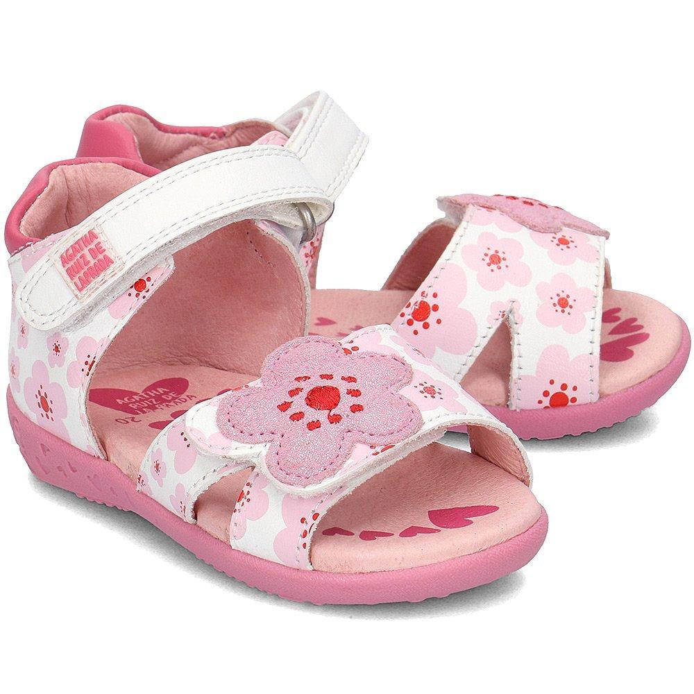 Agatha - Sandały Dziecięce - 182905 B-BLANCO - Biały