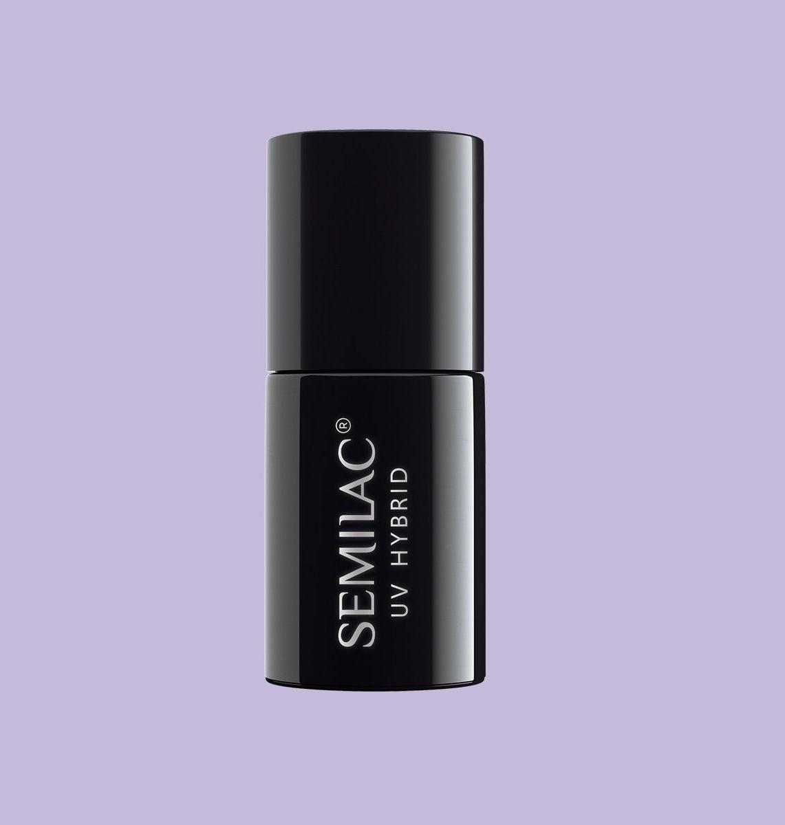 SEMILAC 127 Violet Cream UV LED Lakier Hybrydowy 7ml