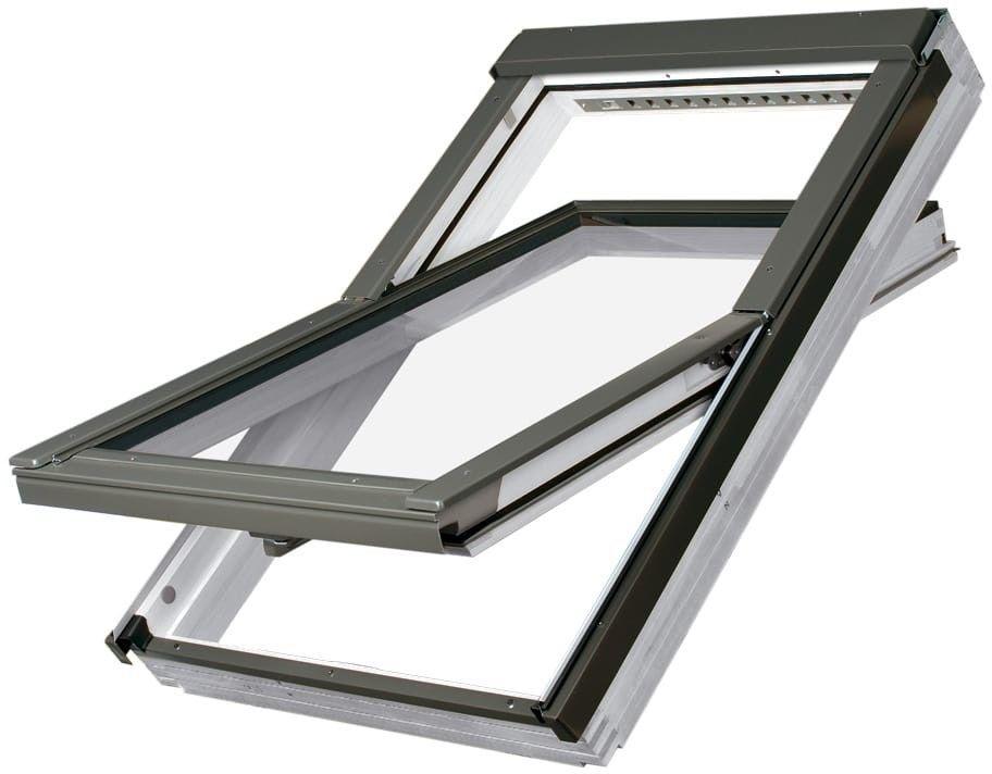 Okno dachowe FTU-V U4 Fakro obrotowe energooszczędne o podwyższonej odporności na wilgoć