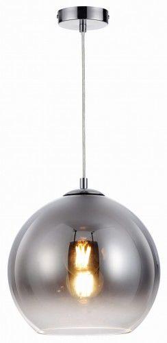 Lampa wisząca CASTILO chrom szkło