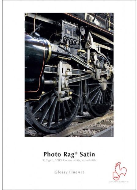 Papier HAHNEMUHLE PHOTO RAG SATIN 310gsm A2 (25 arkuszy) (10641656)