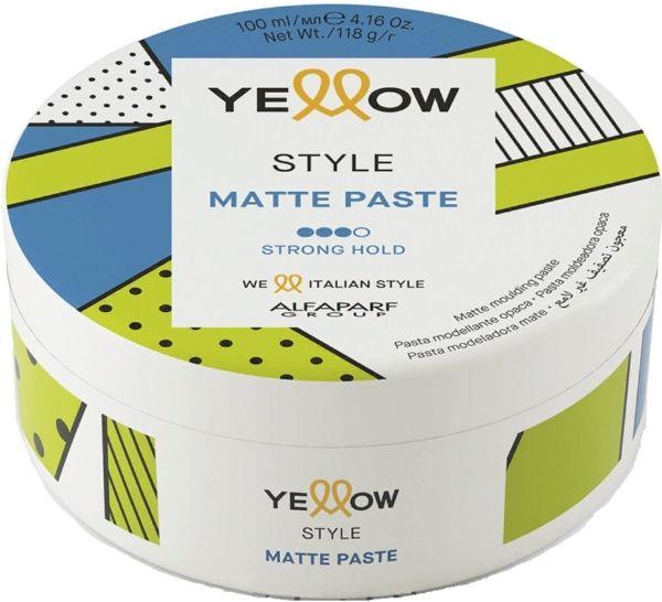 Alfaparf Yellow Style Pasta Matująca Strong Hold