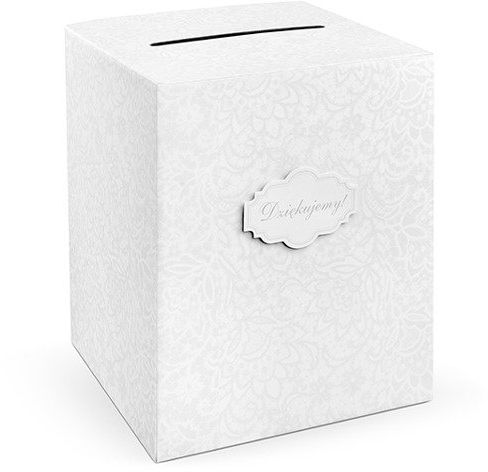 Pudełko na koperty z życzeniami prezentami 25x25x30cm PUDT5