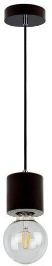 SPOTLIGHT lampa wisząca TRONGO ROUND drewno bukowe kolor orzech 7069176