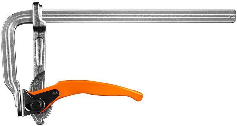 Ścisk stolarski zapadkowy 300 x 120 mm 45-230