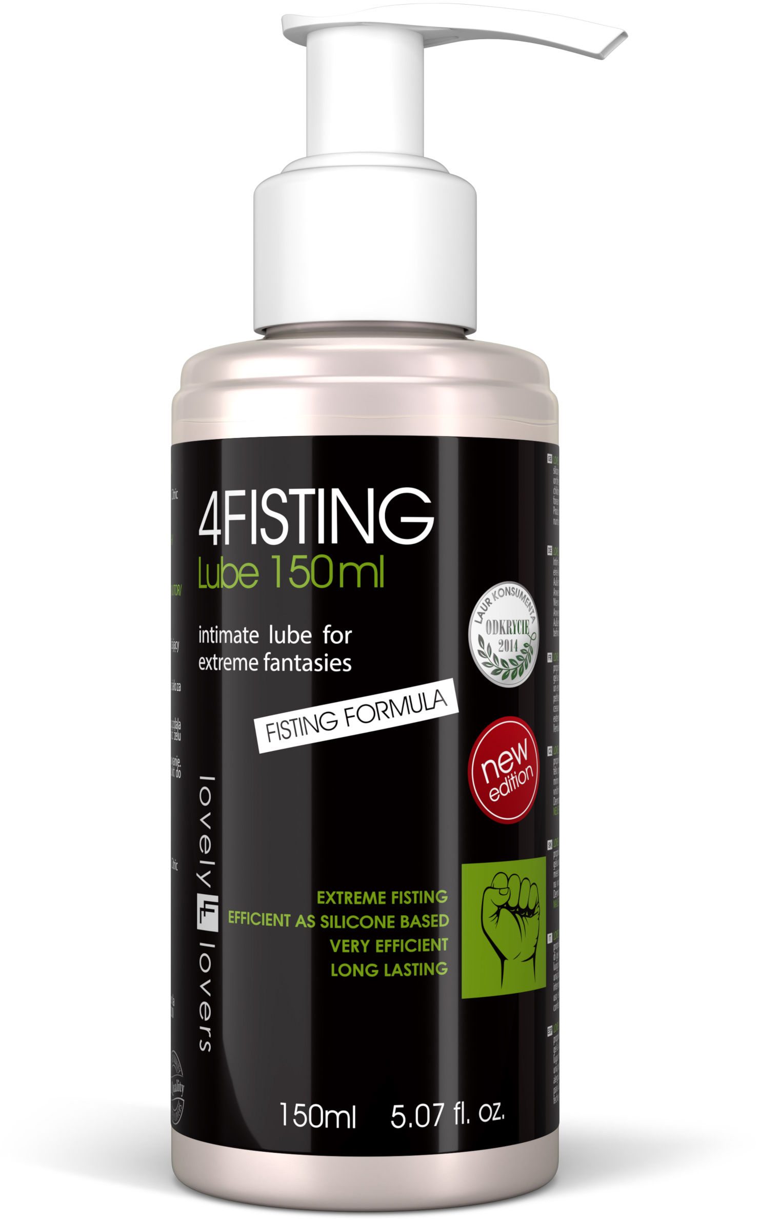 Lovely Lovers 4FISTING Lube 150ml