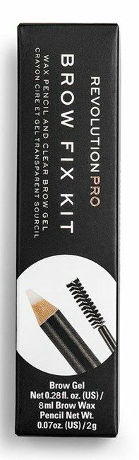 Makeup Revolution PRO Brow Fix Kit Wax Pencil&Clear Brow Gel Zestaw do stylizacji brwi