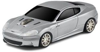 Aston Martin DBS - srebrny - Landmice mysz przewodowa samochód
