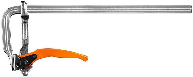 Ścisk stolarski zapadkowy 400 x 120 mm 45-240