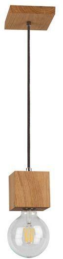 SPOTLIGHT lampa wisząca TRONGO SQUARE z drewna dębowego kolor dąb olejowany 7161174