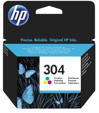 Wkład atramentowy HP 304 Trójkolorowy N9K05AE