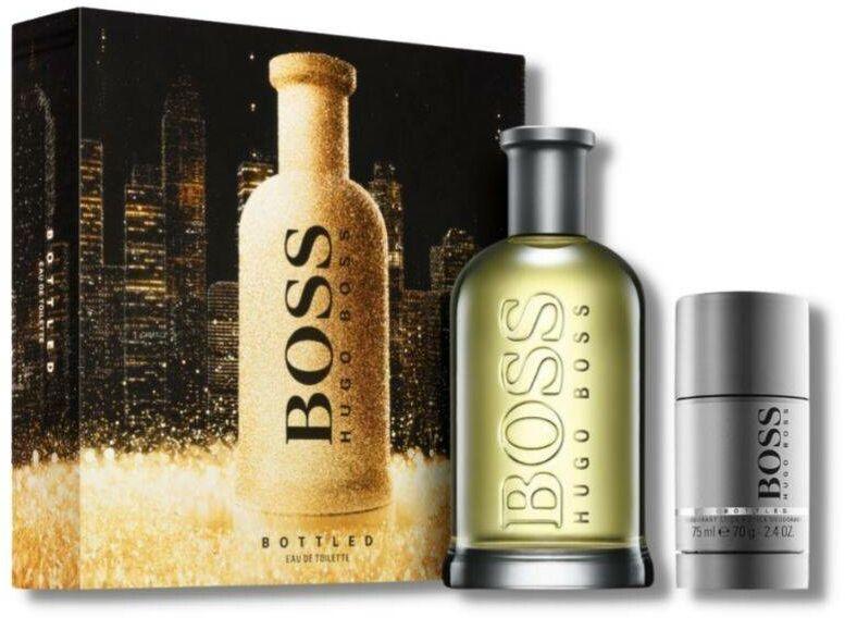 HUGO BOSS Zestaw Prezentowy: Bottled Woda Toaletowa + Dezodorant w sztyfcie