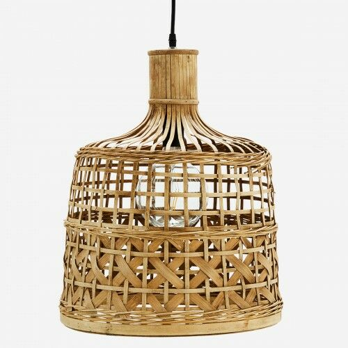 Bambusowa lampa sufitowa Madam Stoltz