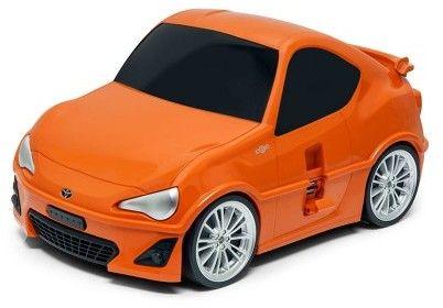 Toyota GT 86 - pomarańczowy - Walizka samochód Welly Ridaz